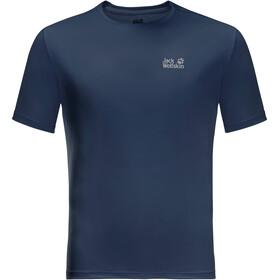 Jack Wolfskin Tech T-shirt Homme, bleu